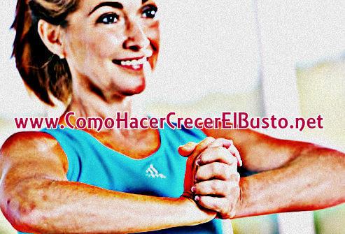 ejercicios para aumentar el busto