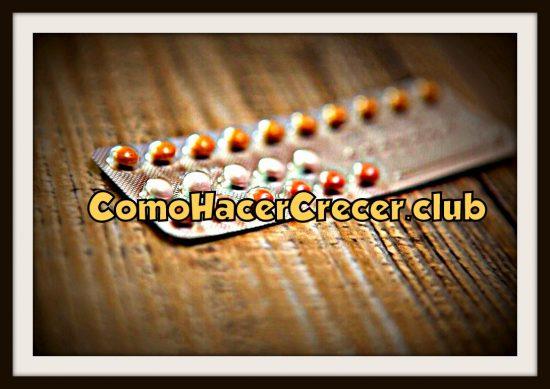 pastillas anticonceptivas para hacer crecer el busto